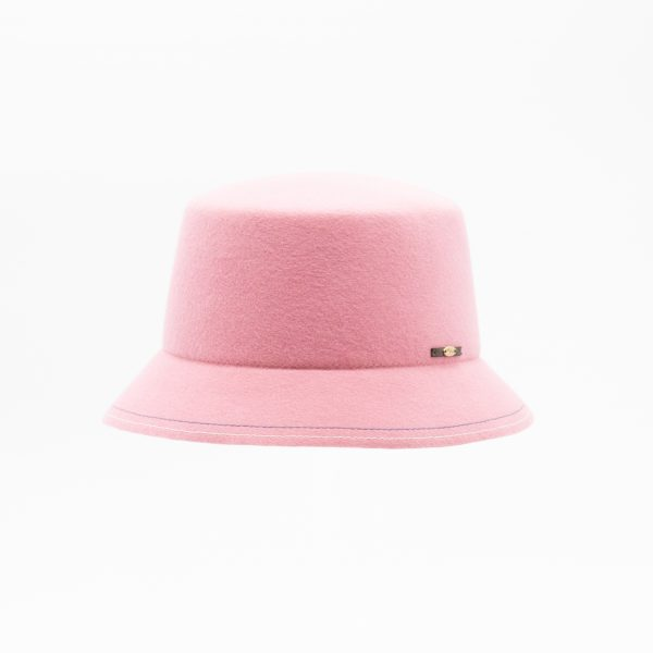 ウールバケットハット(ピンク)