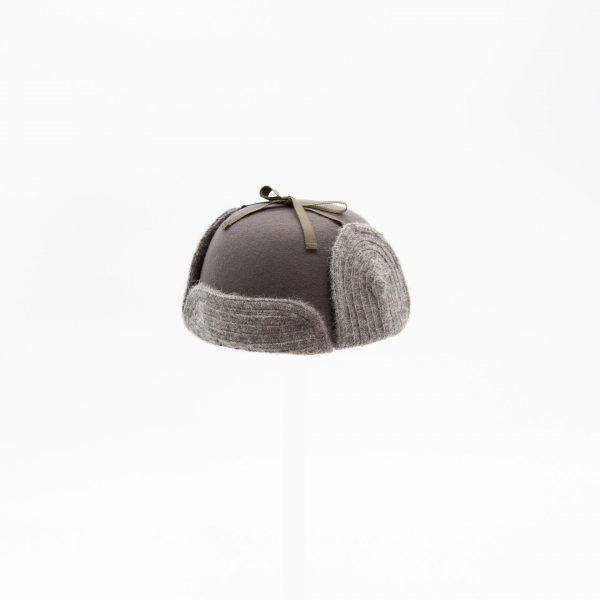 可愛いパイロット帽(グレー子供用)
