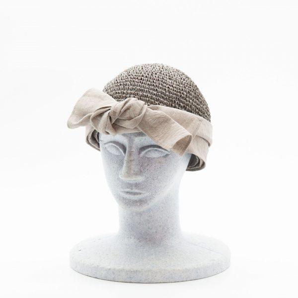 手編みのオリジナルワッチ(グレー)