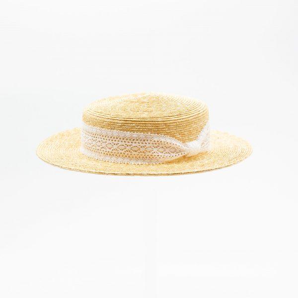 麦わらキャノチェハット(オフ)